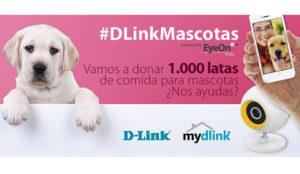 Nueva campaña solidaria de D-Link para donar mil latas de comida a una protectora de animales