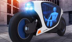 ¡Que tiemble Uber! Esta futurista bicicleta eléctrica podría ser el taxi del futuro