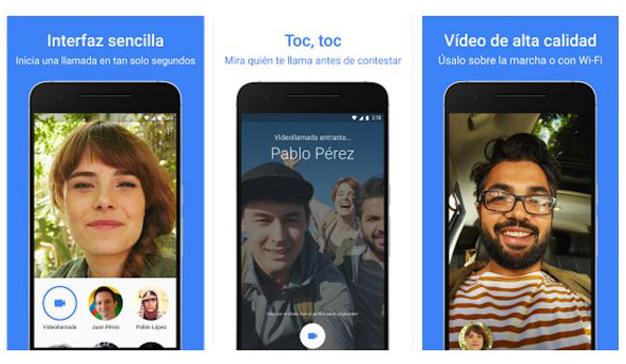Google se adentra en el mercado de la mensajería por vídeo con Duo