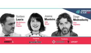 Monteiro, Medvedocky y Lauría, Presidentes del Jurado de El Ojo 2016
