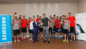 Samsung y la Federación Española de Baloncesto renuevan su acuerdo de patrocinio tecnológico