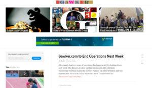 Gawker.com cerrará definitivamente tras la compra de Univision