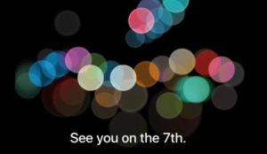 Se acabó la espera: Apple presentará el iPhone 7 el próximo 7 de septiembre
