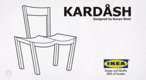 Internet se mofa de Kanye West por sus vanidosos comentarios hacia IKEA