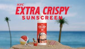 KFC lanza un protector solar con aroma a pollo frito para evitar una piel extra crujiente
