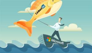 La compra por parte de Microsoft no repercute (positivamente) en los beneficios de LinkedIn