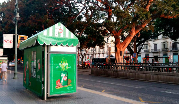 7up, OMD y JCDecaux Innovate llevan