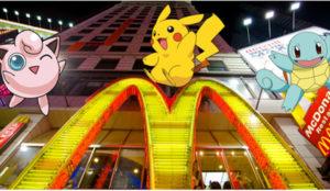 McDonald's crece en Japón llevado en volandas por Pokémon GO