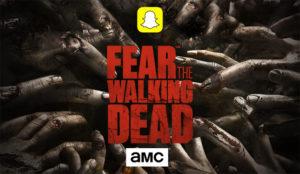 ¿Le apetece ser un zombi de Fear the Walking Dead? Snapchat le permite