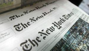 The New York Times cotiza a la baja en el mundo digital: sus ingresos caen un 6,8%