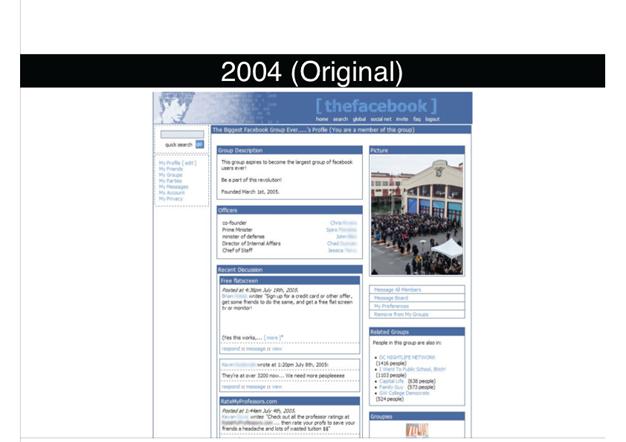 Facebook 2004 (Original. No News Feed)1