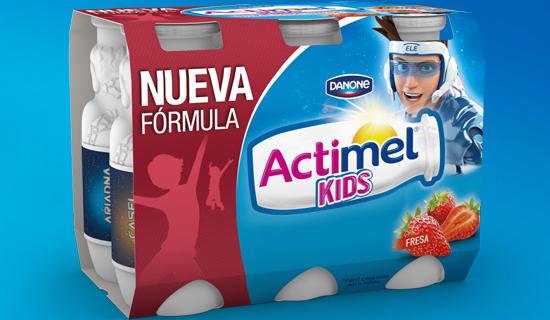 actimel  kids imagen