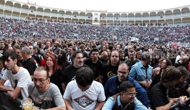 Rocktiembre 2016 reúne a alrededor de 11.000 personas en torno a seis bandas míticas