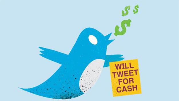 tweet for cash
