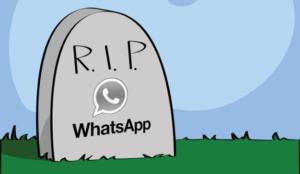 Si no ha cedido sus datos a WhatsApp, el lunes puede quedarse sin servicio