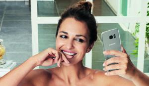 Paula Echevarría, protagonista de la nueva campaña de Samsung