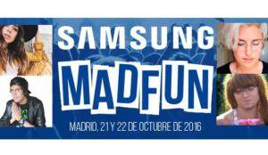 Samsung MadFun, primer evento de ocio digital en España que reúne a grandes youtubers #SamsungMadFun