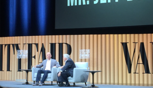Jeff Bezos, sobre el futuro de los medios digitales... y sobre Trump