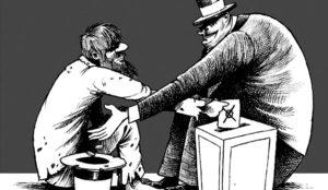 La (histórica) falta de honradez política ha corroído la credibilidad publicitaria