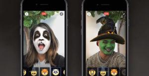 Facebook lanza su propia versión de los filtros de Snapchat