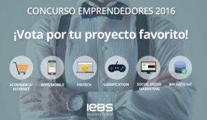 El Concurso de Emprendedores 2016 ha anunciado los proyectos finalistas