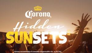 Corona despide el verano con la tercera edición del festival Corona Hidden Sunsets #CoronaHiddenSunsets