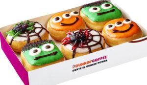Dunkin' Coffee lanza una colección especial de Halloween