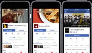 Pedir comida a domicilio o comprar entradas: Facebook, dispuesto a organizar nuestra vida