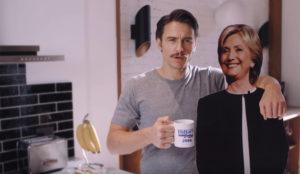 James Franco convierte a Clinton en