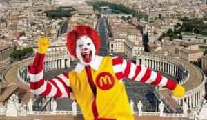 Carta al Papa para que frene la apertura de un McDonald's cerca del Vaticano