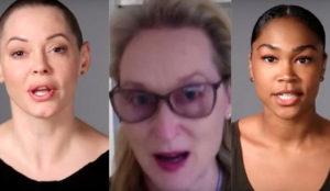 Meryl Streep y víctimas del acoso sexual cantan las 40 a Trump en este viral