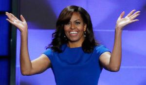 Michelle Obama lanza una nueva campaña en defensa de las mujeres