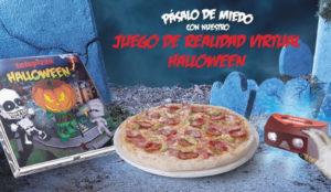Telepizza ofrecerá un juego de realidad virtual para pasar la noche de Hallloween