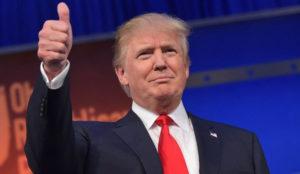 Trump domina la conversación tuitera en el debate contra Clinton