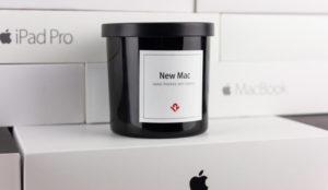 El regalo 10 para los fanáticos de Apple: New Mac Candle