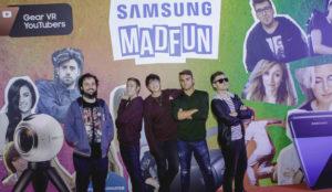 Realidad virtual y los mejores youtubers de España se darán cita en el Samsung MADFUN