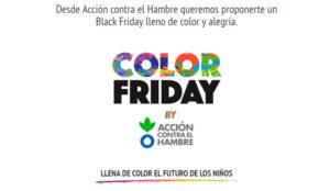 SrBurns y Acción contra el Hambre convierten el Black Friday en Color Friday