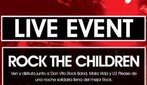 Barcelona acoge el concierto benéfico Rock the Children a favor de la investigación contra el cáncer infantil