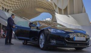 El Tesla de Cabify llega a Madrid, una opción tecnológica y ecológica al mismo tiempo