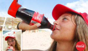 Coca-Cola pone ojitos a las redes sociales (literalmente) con su nueva