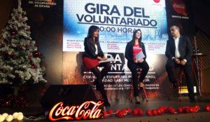 Coca-Cola arranca su campaña de Navidad dando las gracias a las personas voluntarias