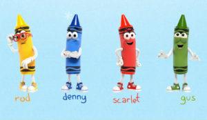 Crayola ha lanzado su campaña navideña animada con 4 personajes muy especiales
