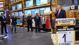 Electro Depot se da a conocer en Madrid gracias a Geobuzón