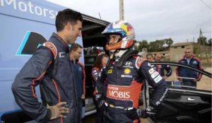 Éxito en la última acción de Hyundai Motor España con Dani Sordo y Josef Ajram