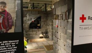 IKEA recrea las casas destruidas de Siria en una de sus tiendas
