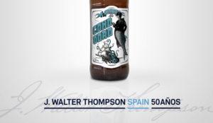 J. Walter Thompson celebra sus 50 años en España con una cerveza artesanal