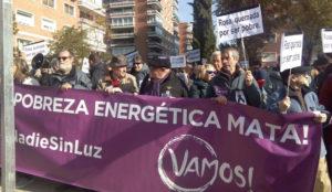Las calles y Twitter se llenan de protestas contra Gas Natural Fenosa