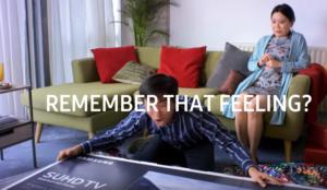 Samsung Electronics muestra adultos de diferentes nacionalidades reaccionando como niños en su últimospot
