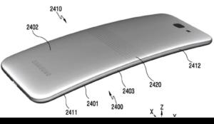 Samsung patenta un smartphone plegable y podría salir al mercado en 2017