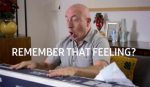 Samsung Electronics muestra a adultos que reaccionan como niños en su último anuncio #BlackFriday